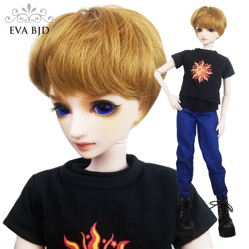 24 Full Set 1/3 Photographer Men Glass eyes SD Doll ball jointed dolls BJD Toy Action Figure Gift + Camera Toy DA001-104 24 full set bjd doll devil manager men chinese manager ball jointed dolls sd doll toy boyfriend boy gift for boy children