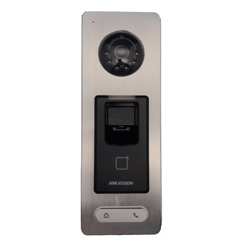 Hikvision DS-K1T501SF Fingerprint access controller, call to indoor  monitor, Hik-connect , door