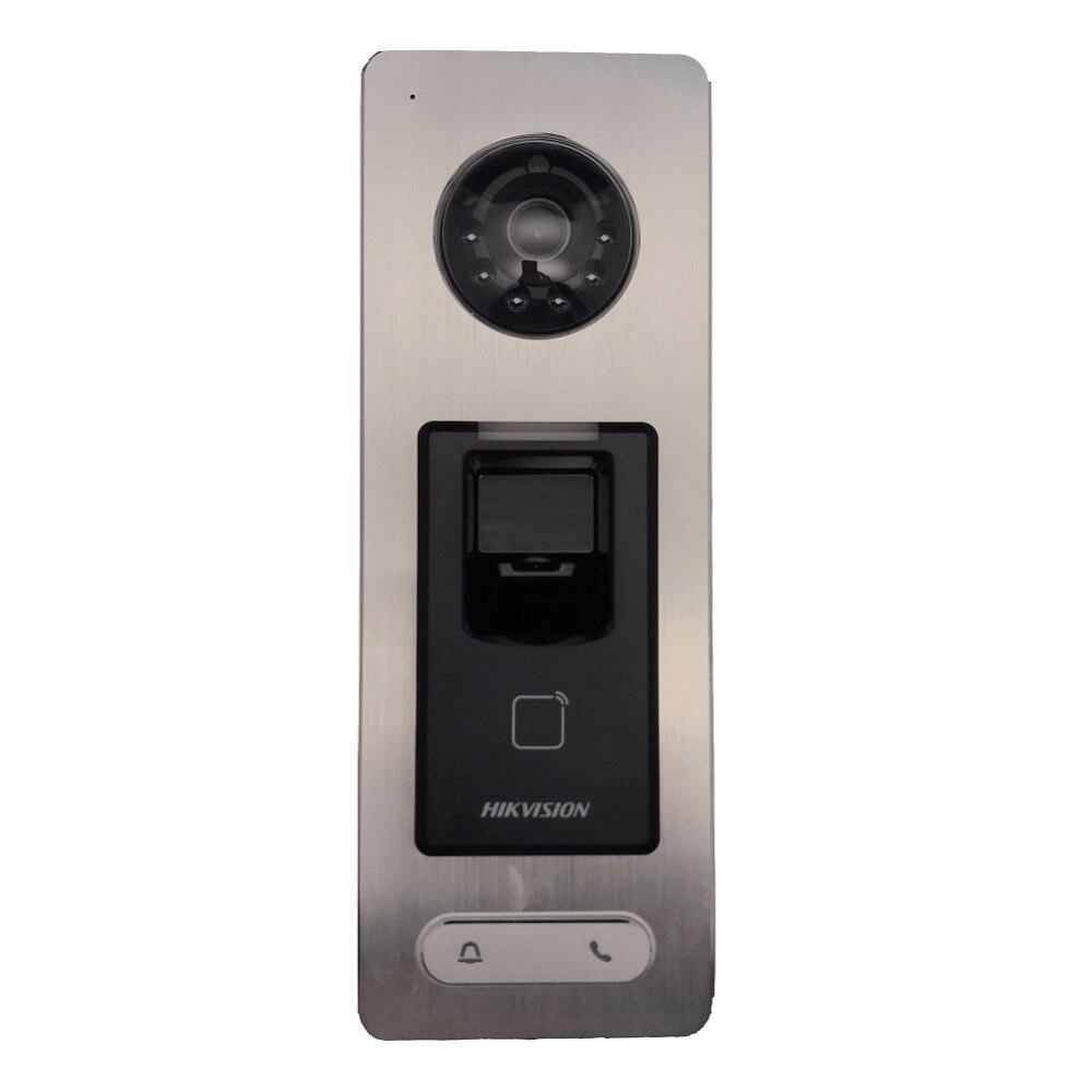 Hikvision ds DS-K1T501SF di Impronte Digitali di controllo di accesso, di chiamare per monitor dell'interno, Hik-collegare, telefono del portello, video citofono, IP Campanello