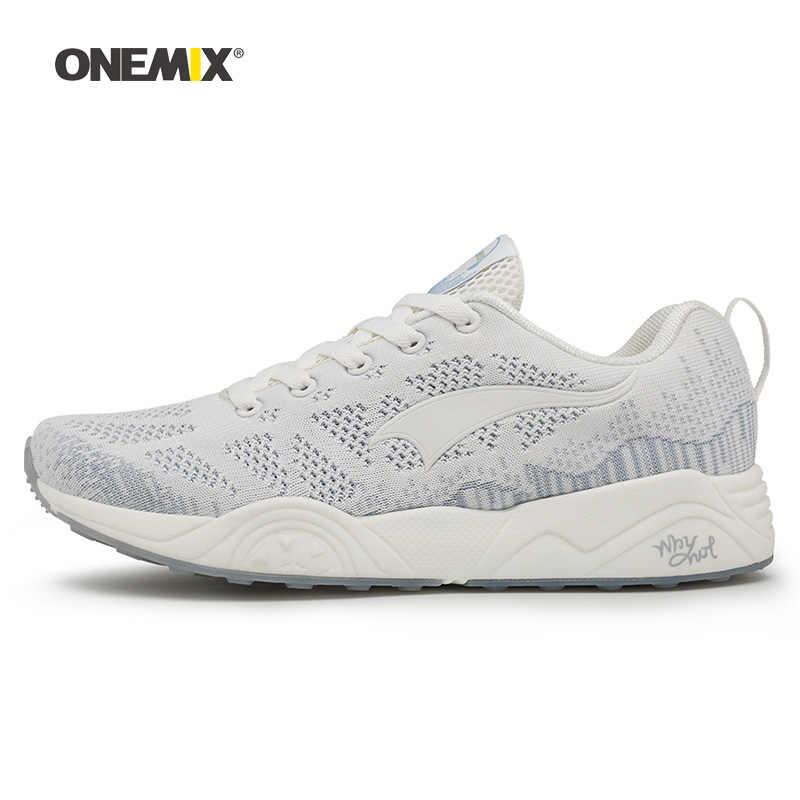 ONEMIX Ücretsiz Gemi Adam koşu ayakkabıları Kadınlar Kış Retro Klasik Atletik Eğitmenler Zapatillas Spor Ayakkabı Açık Yürüyüş Spor Ayakkabı