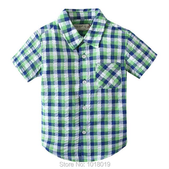 2017 nueva Marca de Verano 100% Algodón de Los Bebés Ropa Del Niño niños Embroma la Ropa Camisetas T-Shirt camiseta de Manga Corta Niños blusa