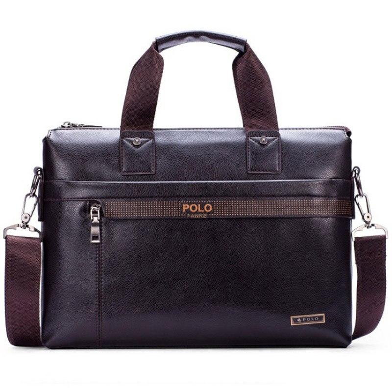 new fashion leather bag men FANKE POLO bag 019ec95d7feca