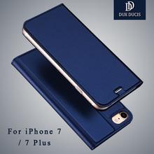 Dux DUCIS Марка Бумажник кожаный чехол для iPhone 7 Plus кожаный чехол флип чехол телефона для iPhone 7 Чехол для iPhone7 чехол Коке