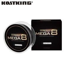 KastKing marka Mega 8 274M 457M 8 Strand japonia polietylenowa żyłka wędkarska pleciona wielowłóknowy drut wędkarski dla wszystkich wędkarzy 10 80LB