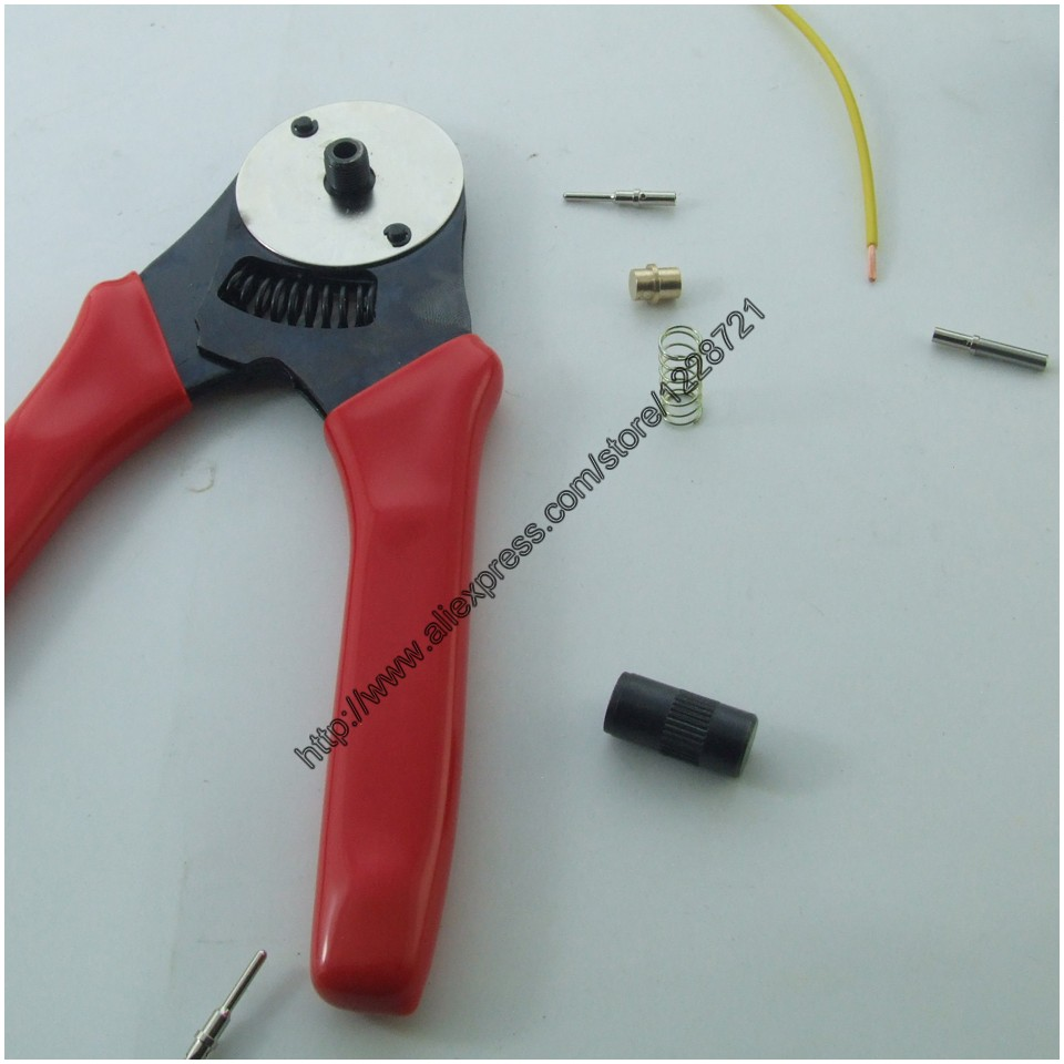 1Pc HDT-20-18 A New Modified Hand crimp tool crimper solid 16# 20# terminal for Deutsch HARLEY DT DTM DTP DMC Pliers m22520 2 01 crimp tool by hand equivalent to afm8 dmc with sk2 2 locator