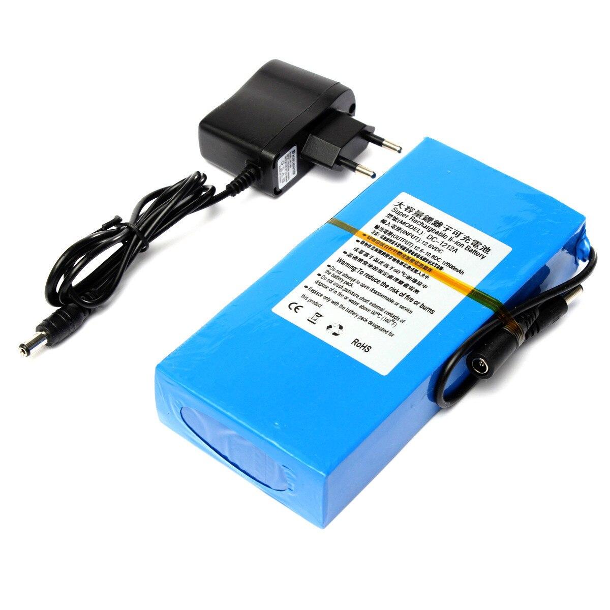 GTF 12 V lithium-batterie 12000 mAh batterie polymer-akku monitor motor led-leuchten im freien ersatz DC 1212A Batterie