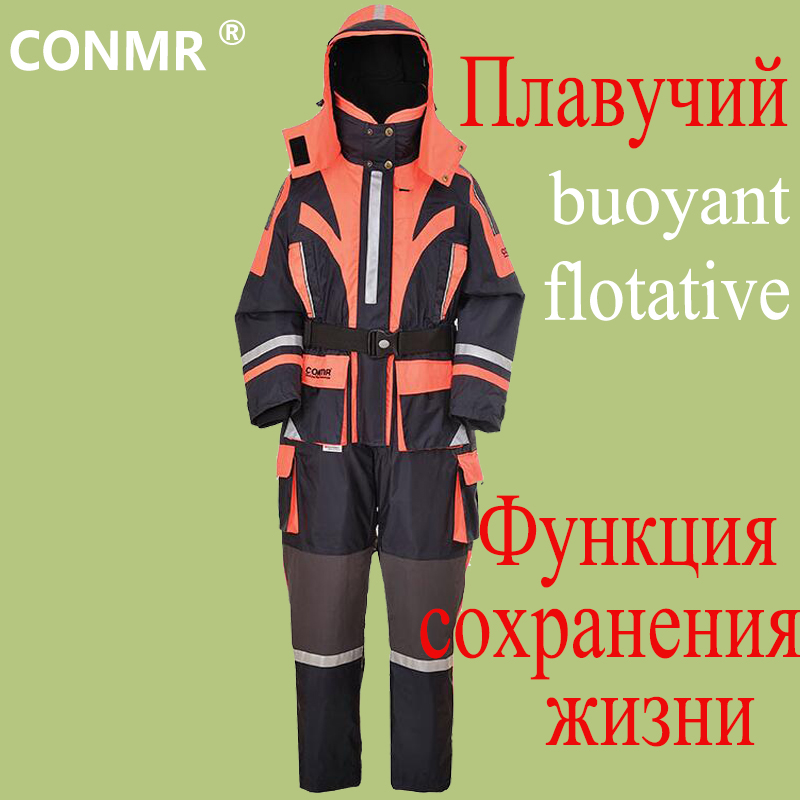 CONMR font b Men b font Professional Winter Flying Sea Rock Fishing Clothes Waterproof Windproof Outdoor