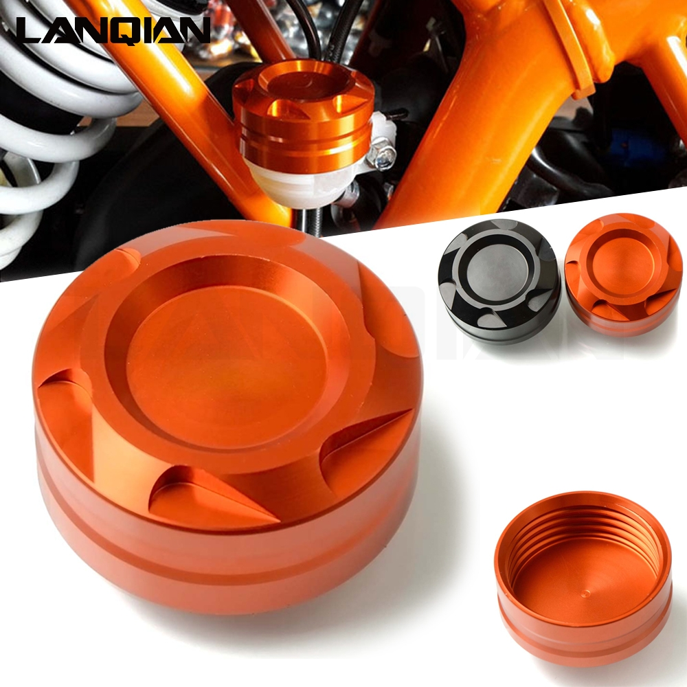 CNC Hight quality Motorcycle Accessories Front Brake Fluid Reservoir Cover Cap For <font><b>KTM</b></font> DUKE125 200 <font><b>390</b></font> <font><b>duke</b></font> <font><b>2018</b></font> ALLYears image
