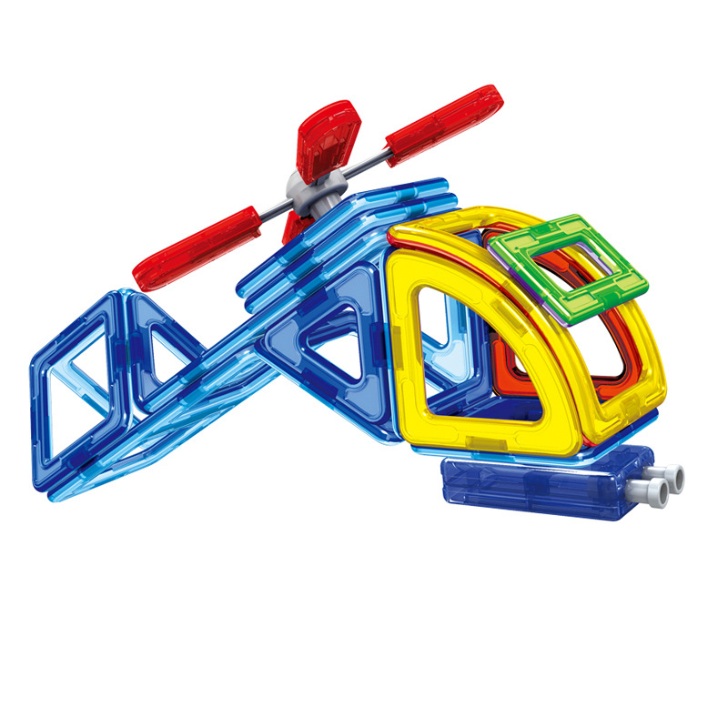 70pcs Lot Standard Size Magnetic Designer Creator 3d Educational Models Similar Diy Building Blocks Bricks