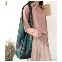 Fashion Casual Vintage Shoulder Bag Cross Body Bag Shopping Dark Green Tote CYA34