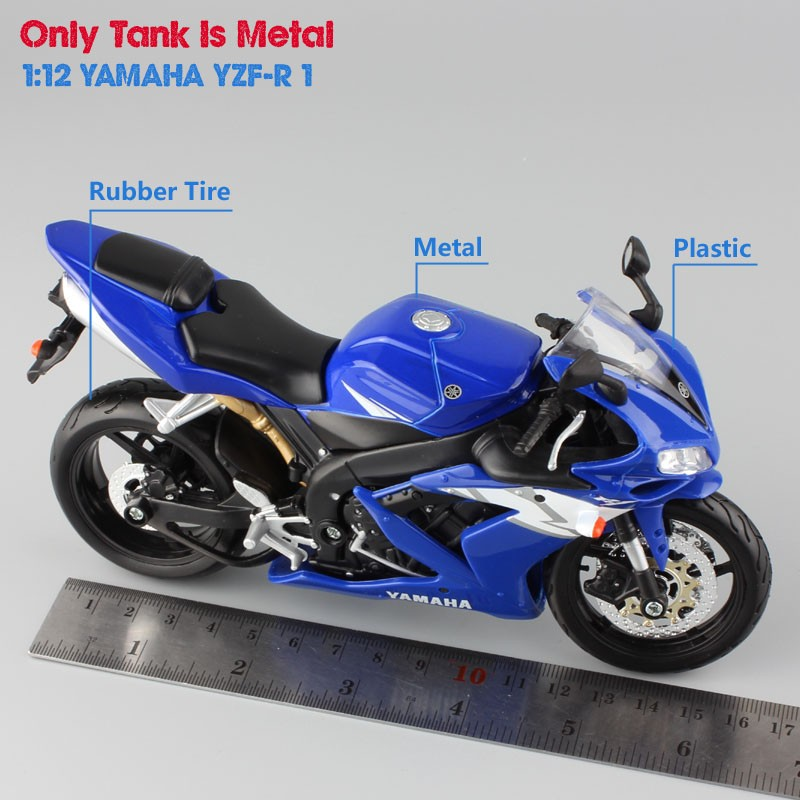 Yamaha Supercross YZF R1 Model Toy Motorcycle 6