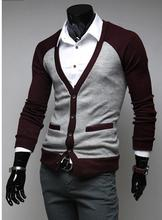 fashion casual men knitwear blusa de moleton masculinas inverno woolen mens sweater Men's cardigan