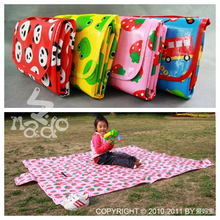 New arrival outdoor cartoon graphic patterns outdoor picnic rug child mat,game mat , playmate,PP material water prove