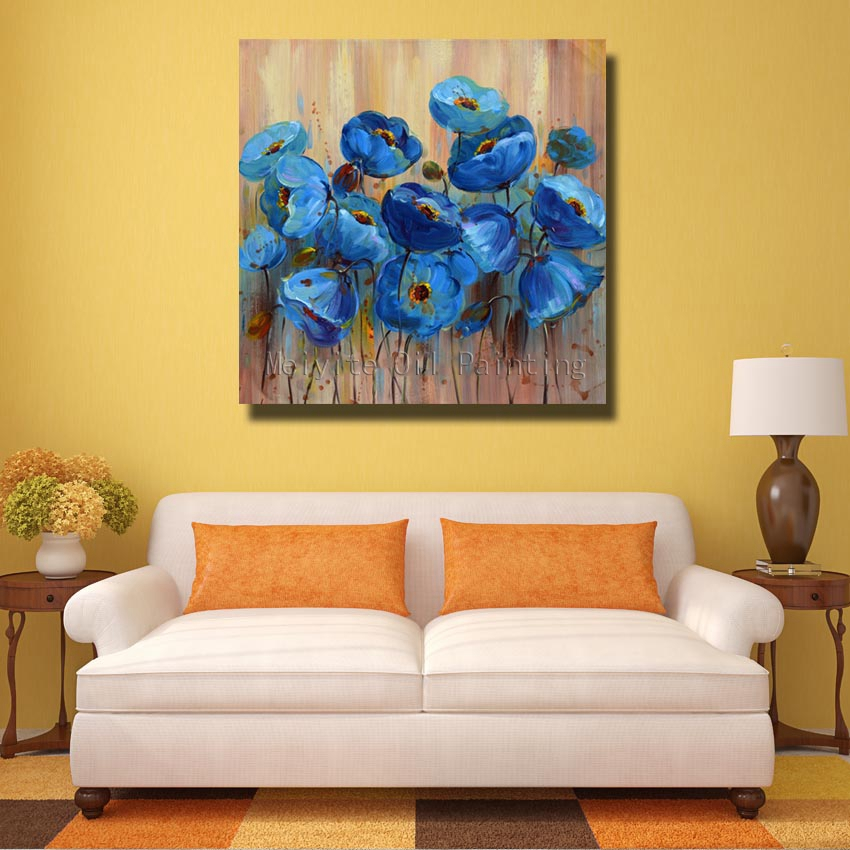 Beautiful Blue Butterfly Orchid Picture Wall Decor, Attractive ...