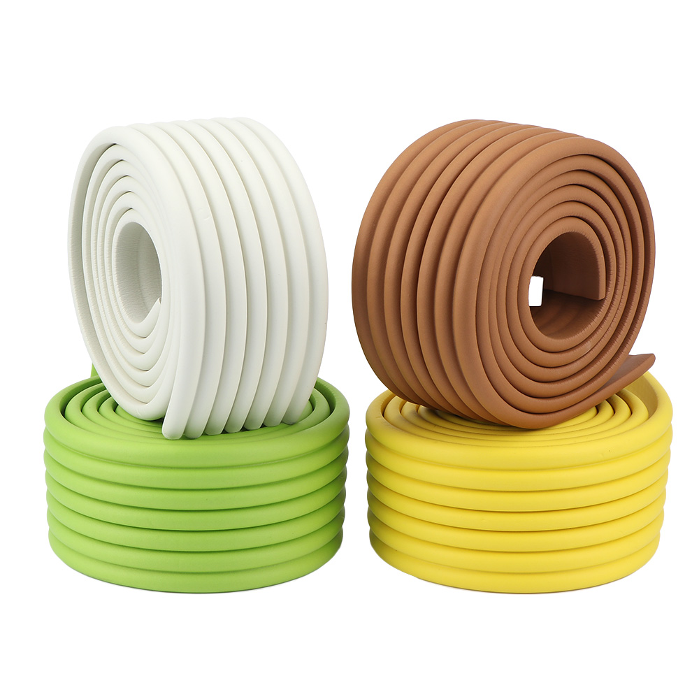 2M Baby Safety Table Desk Edge Guard Strip Home Cushion Guard Strip Safe Protection Children Bar Strip Soft Thicken Bumper