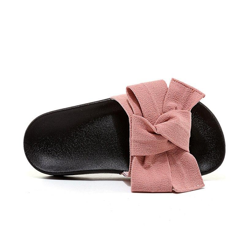 f7fdfa41a50c Size 26-37 Summer Shoes Girls Slides Sandals Children Butterfly Slippers  Baby Beach Sandals For Kids Sandals Black Pink TX0344