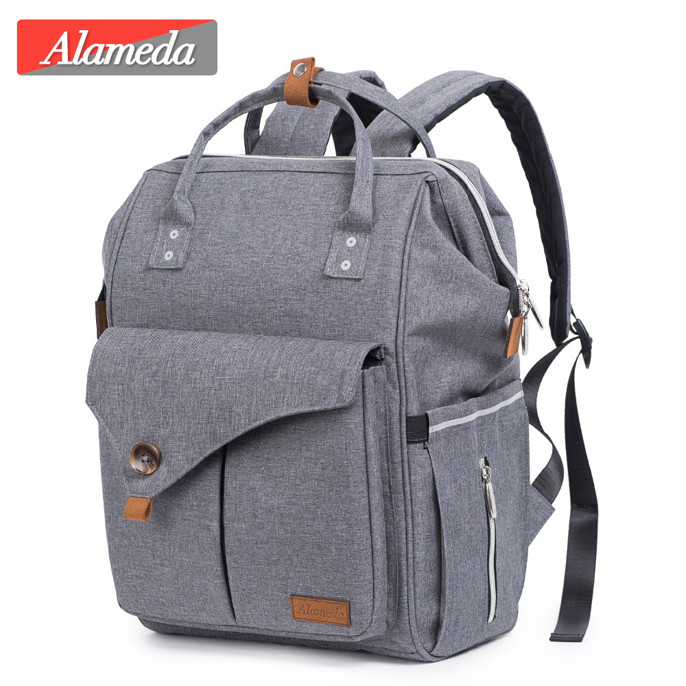 Fashion Mommy Maternity Nappy Baby Care Bag Waterproof Travel Diaper Bag Backpack For Mom 2018 Baby Stroller Nursing Bag