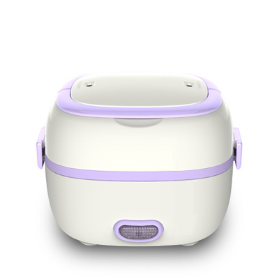 Mini Rice Cooker Thermal Heating Lunch Box Kitchen Food Container Multifunctional Electric Egg Steamer Cooking Machine bear dfh s2516 electric box insulation heating lunch box cooking lunch boxes hot meal ceramic gall stainless steel