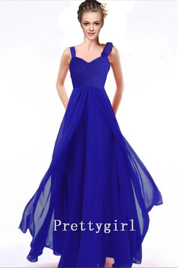 Único Negro Y Azul Vestidos De Dama Cresta - Vestido de Novia Para ...