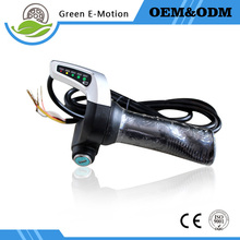 right hand twist throttle with electric lock for electric scooter and electric bike