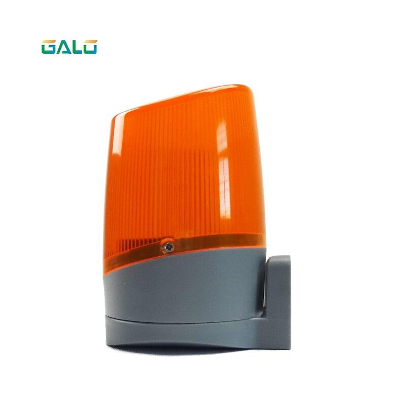 MINI flash light lamp use for swing sliding gate opener input ac110v   sliding gate opener motor