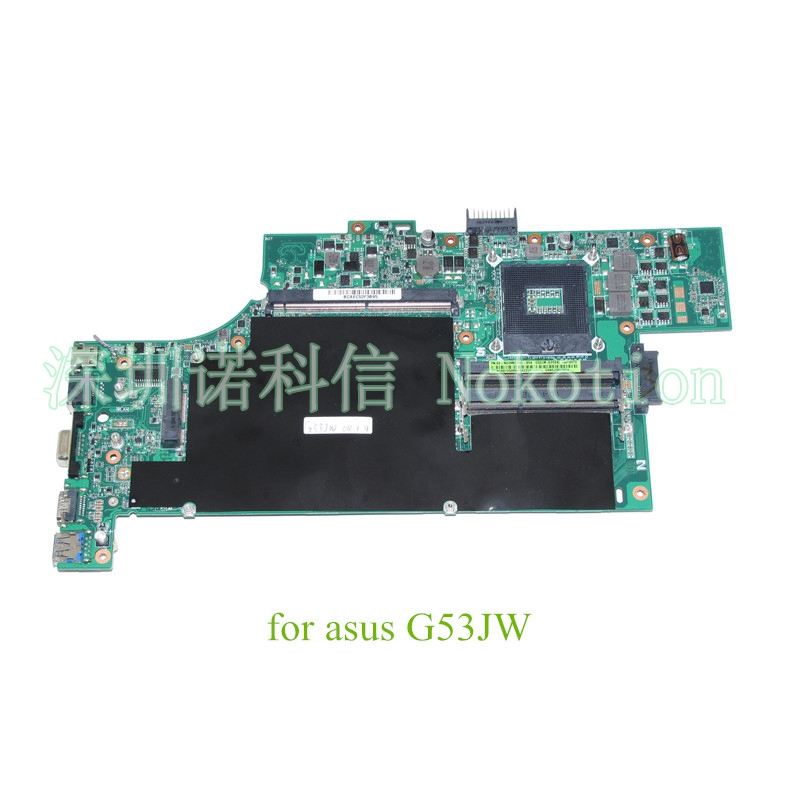 N0ZMB1300 For ASUS G53JW laptop motherboard HM55 with graphics slot Mainboard warranty 60 days