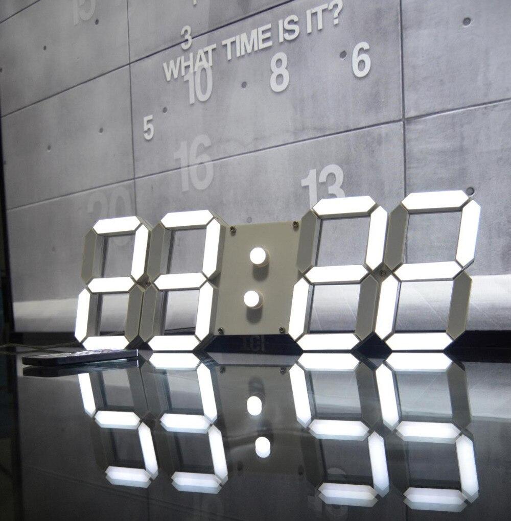Reloj digital de pared gigante trendy reloj de pared xcm - Reloj gigante pared ...