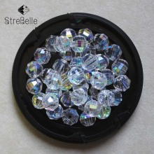 Clear Color AB AAA 6MM 8MM 10MM 100pcs Brilliant Round Austrian crystals loose beads supply bracelet DIY Jewelry Making