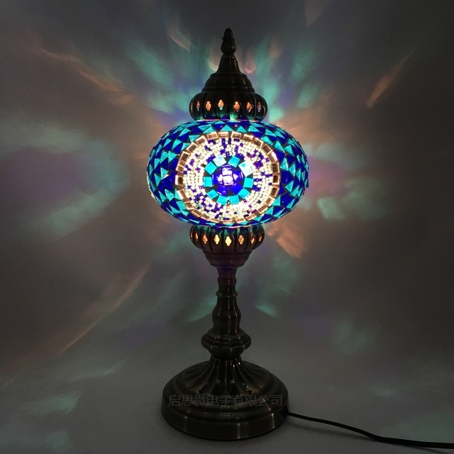 Fine Us 80 47 35 Off New Style E14 Hand Inlaid Glass Mosaic Bedroom Living Room Decorative Table Lamps Of Mediterranean Style Turkish Lamps In Led Table Interior Design Ideas Clesiryabchikinfo