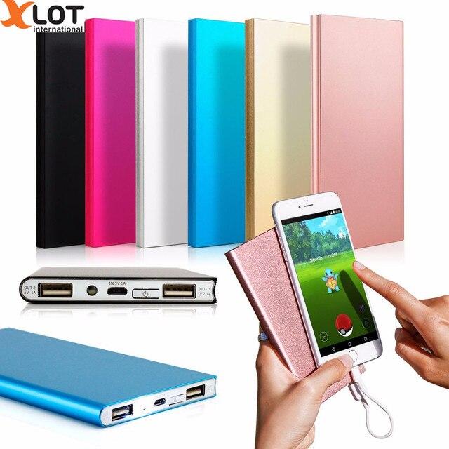 10000 мАч Power Bank Портативный Внешний Резервный Зарядное Устройство Dual USB Мобильный Телефон Powerbank Для iPhone Для Samsung Smart Телефон