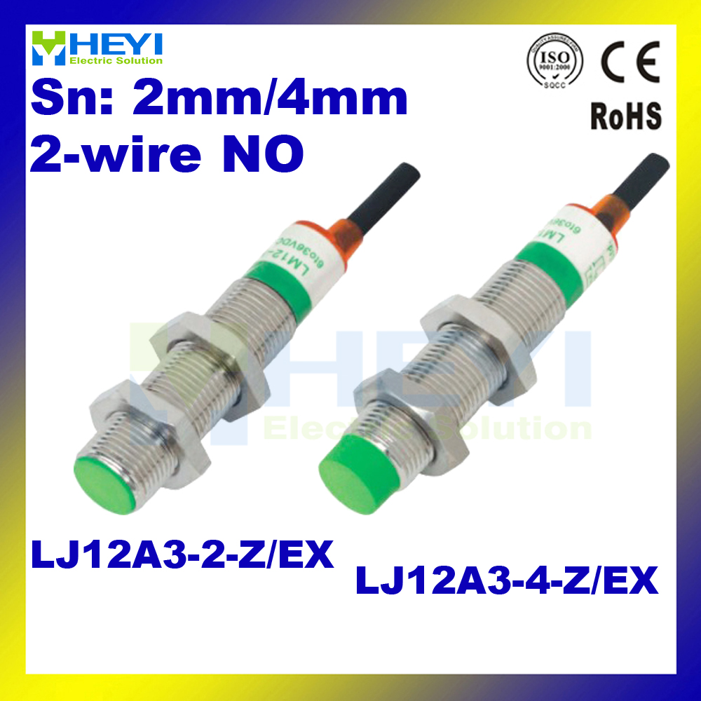 2 Wire Dc No Inductive Proximity Sensor 5pcs Lot Lj12a3 4 Z Ex 4mm 2wire Wiring Diagram Inductance Switch In Switches From Lights Lighting On