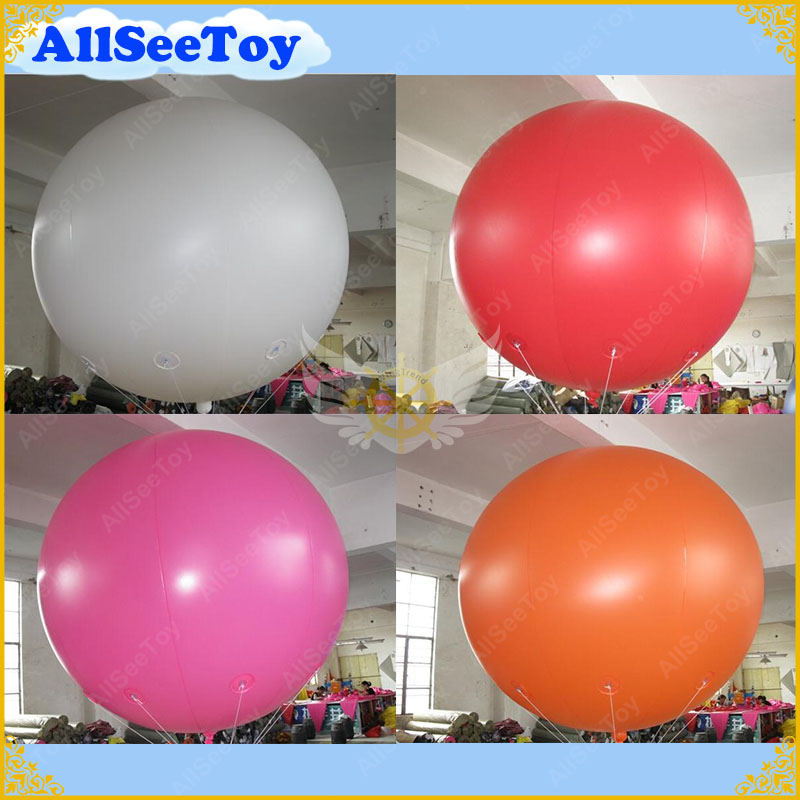 2m Giant Inflatable balloon for Advertising,PVC Material Sky Sphere, Big Balls for Sale 2m by 2m inflatable square advertising helium balloon