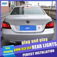 Тюнинг автомобилей для BMW E60 фонарь в сборе 2004 2010 для i520 523 525 530 задние фонари посвященный led Фонарь Свет с 4 шт..