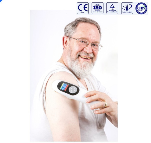 Chinese cold laser physiotherapy equipment for body pain reief home use rechargea portable body pain relief cold laser 650nm 808nm rheumatoid arthritis inflammation physiotherapy equipment ce