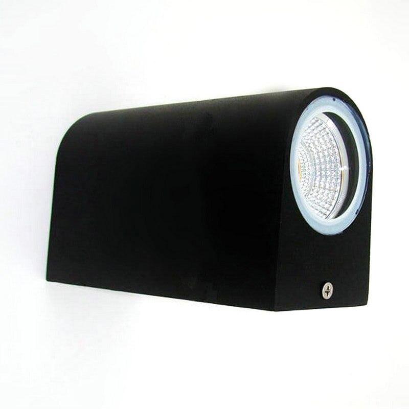 Doprava zdarma 2x7W nástěnná lampa vodotěsná LED venkovní světlo nahoru a dolů dvojité 14W COB LED nástěnné světlo AC85V-265V