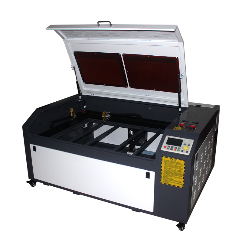 No Tax For Russian LY 100W Co2 USB Laser Cutting Machine 1060 PRO With DSP System Auto focus Laser Cutter Engraver Chiller 1000