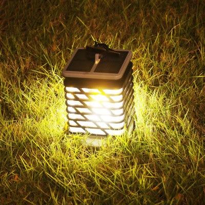 2019 Nuovo Stile A Lume Di Candela Solare Decorazione Del Giardino Esterno Europeo Lampada A Sospensione Luce Paesaggio Esterno Impermeabile Led Ombrello 2 Pezzi Alta Sicurezza
