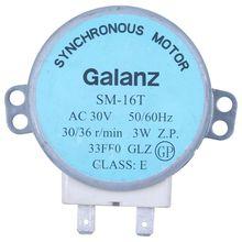 Горячее предложение! Sm-16t ac 30 v 3,5/4 w 30/36 r/min синхронный двигатель для микроволновая печь galanz
