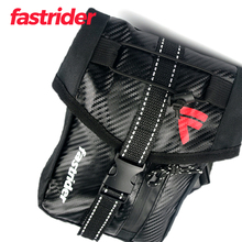 Мотоцикл Искусственная кожа Водонепроницаемый бедра падение ноги сумка для верховой езды талия черный поясная сумка большой емкости файла Телефон чехол для мужчин