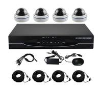 New Arriva 1080N HD 1800TVL Metal Dome Security Camera System HDMI CCTV Video Surveillance 4CH DVR