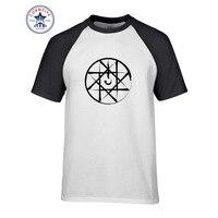 2017 Inconformista Básica Tops Divertido sello de sangre fullmetal alchemist Camiseta de Algodón para hombres