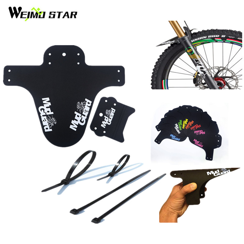 Weimostar Downhill Bicycle Mudguard Fender Mountain Bike Mud Guards Fender Lightest Bicycle Wings Bike Parts Bicycle Accessories