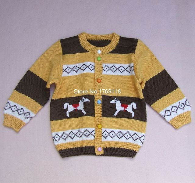 acf83c3d6f80 New Hand Knitted Wool Cardigan Sweater for Baby boy 2 years old ...