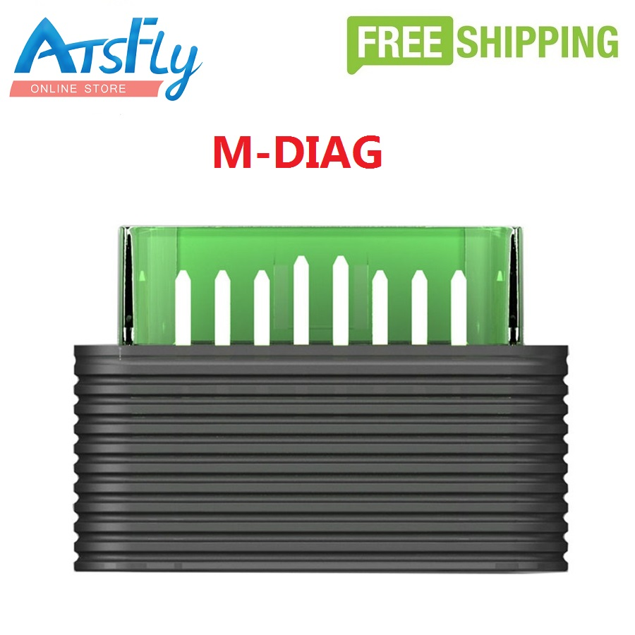 Easydiag Original Launch golo M-Diag Lite for iOS Android Built-in Bluetooth OBDII MDiag Lite Can Support Both Write and Read