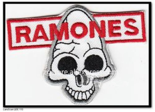 ộ_ộ ༽Bordado punk rock Parches hierro en 5.5 cm x 7.5 cm epp227 - a499