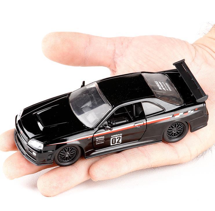 Online Shop High imitation 1:32 alloy car models,Dodge Charger,GTR ...