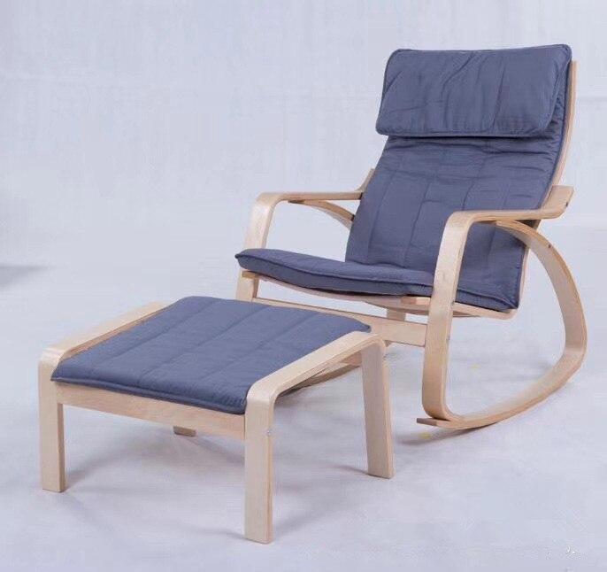 ᗗCómodo relajarse silla mecedora y heces planeadores balancín ...