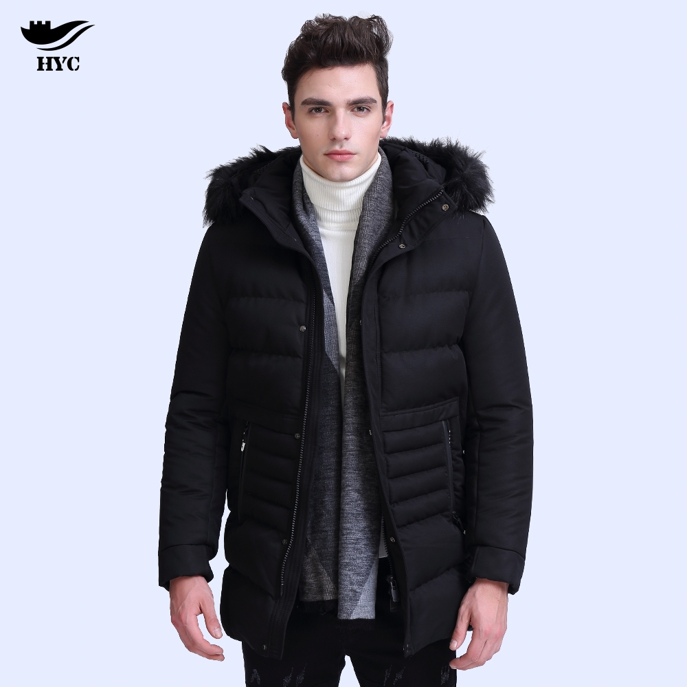 HAI YU CHENG Winter Jacket Parka Men Winter Coat Men Male Jacket Parkas Military Anorak Mens Winter Jackets Quilted Puffer 7861 hai yu cheng winter jacket men wadded parka male wind breaker long trench coat plus size men coat outerwear hood winter anorak
