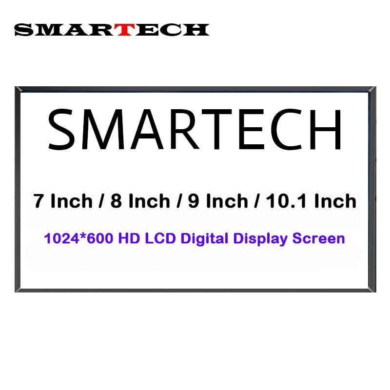 SMARTECH Android Multi-Media Car DVD Radio Screen Display HD 1024*600 LCD Digital Display Screen Not Full Car Radio Player golden media wizard hd в сургуте