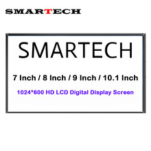 SMARTECH Android Multi-Media Car DVD Radio Screen Display HD 1024*600 LCD Digital Display Screen Not Full Car Radio Player